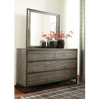 Cazentine - Gray/Black - Bedroom Mirror