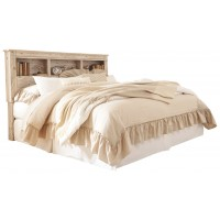 Willabry King/California King Bookcase Headboard