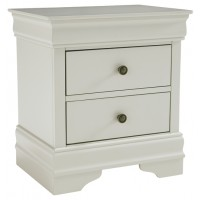 Jorstad - Gray - Two Drawer Night Stand
