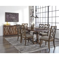 Devasheen - Rectangular Dining Room Table & 6 UPH Side Chairs