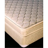 King Pillow Top Mattress w/Free Standard White Box Spring - King Mattress Offer