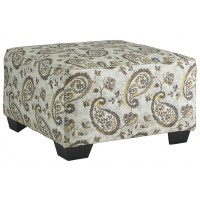 Renchen - Pewter - Oversized Accent Ottoman