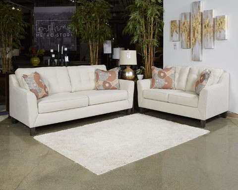 Ordinaire Benissa   Alabaster   Loveseat
