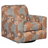 Benissa - Alabaster - Swivel Accent Chair