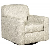 Daylon - Graphite - Swivel Accent Chair