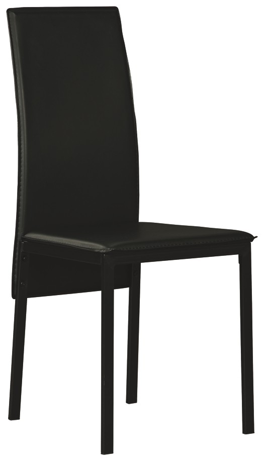 Admirable Sariden Black White Dining Room Side Chair 2 Cn D170 Machost Co Dining Chair Design Ideas Machostcouk