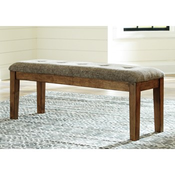 Flaybern - Brown - Large UPH Dining Room Bench