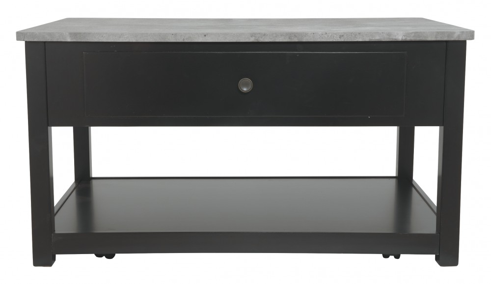 Ezmonei Black Gray Lift Top Cocktail Table T341 9