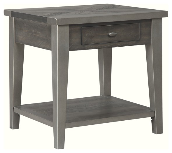 Branbury - Two-tone - Rectangular End Table