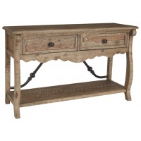 Dazzelton - Light Brown - Sofa Table
