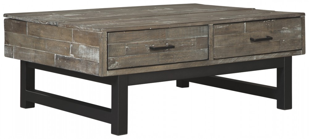 Delicieux Mondoro   Grayish Brown   Lift Top Cocktail Table