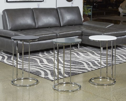 Elegant Dashard   Multi   Round End Table