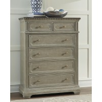 Borlend - Two-tone Brown - Six Drawer Chest