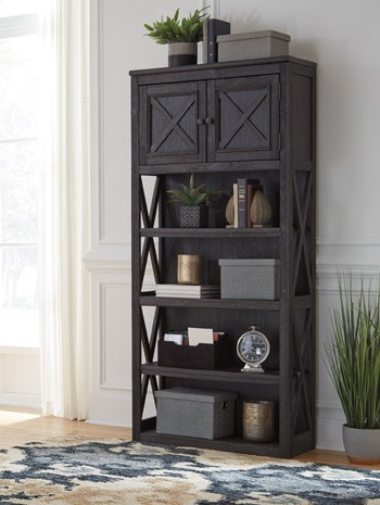 Tyler Creek 74 Quot Bookcase H736 17 Bookcases Furniture