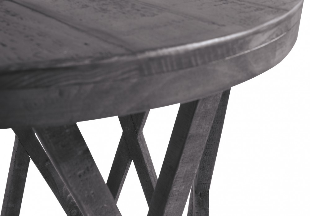 argento table end per sangiovese round finish tables