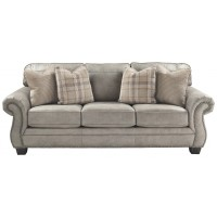 Olsberg - Steel - Queen Sofa Sleeper