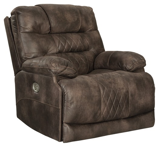 Welsford - Walnut - PWR Recliner/ADJ Headrest