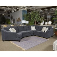 Eltmann - Slate - LAF Sofa w/Corner Wedge