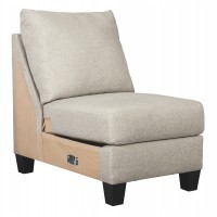 Hallenberg - Fog - Armless Chair