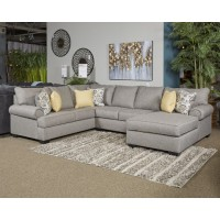 Renchen - Pewter - LAF Corner Chaise