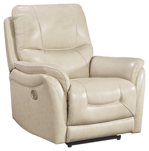 Stolpen - Cream - PWR Recliner/ADJ Headrest