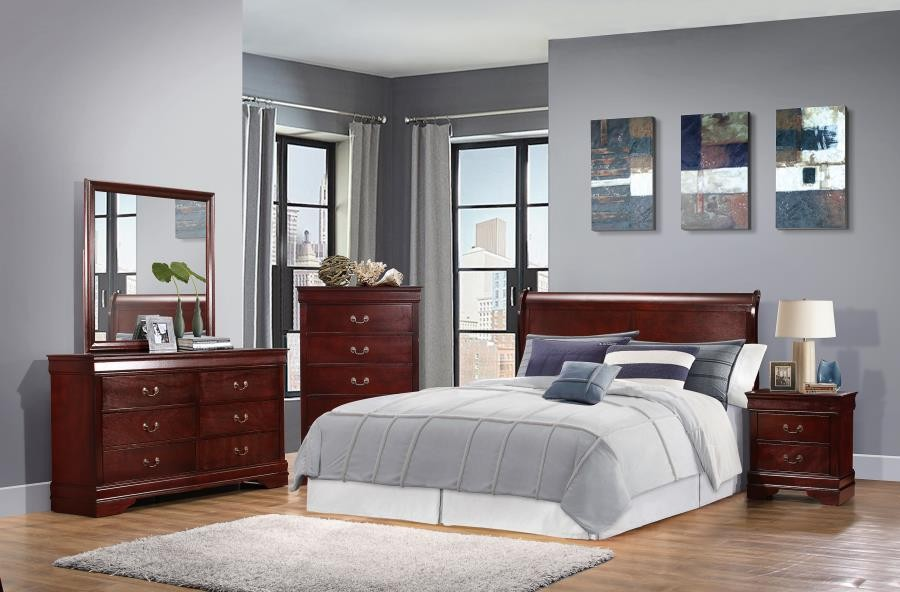 Louis Philippe Collection Wood Headboard 222411keh Headboards