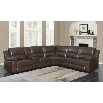 CHANNING MOTION COLLECTION - 6pcs Power Sectional