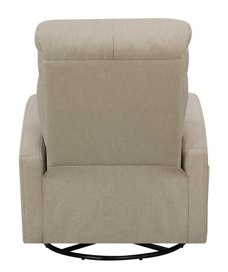 Swivel glider recliner 603170 recliners price busters furniture for Swivel chairs living room sale