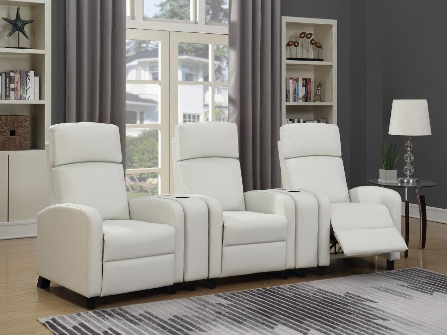AMELIA HOME THEATER COLLECTION - Push Back Recliner