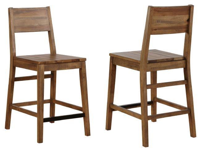 Miraculous Counter Ht Chair Pack Of 2 Lamtechconsult Wood Chair Design Ideas Lamtechconsultcom