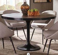 MAYBERRY COLLECTION -  Mayberry Rustic Black Dining Table