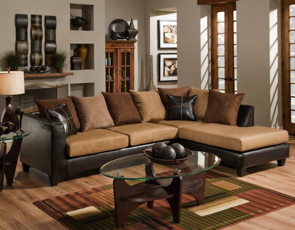 Sierra 4184 Chocolate Sectional