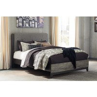 Micco Queen Panel Bed with UPH Headboard