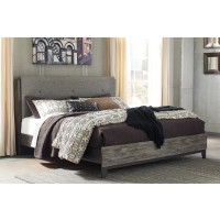 Micco King Panel Bed with UPH Headboard