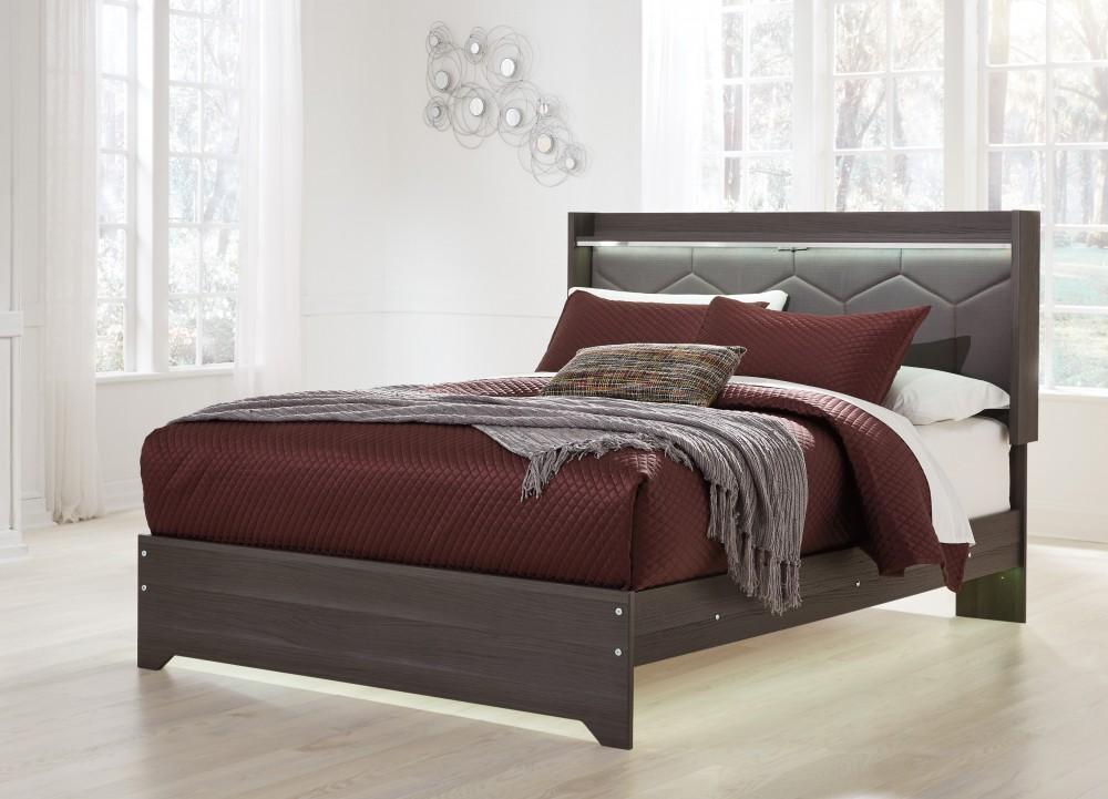 Annikus Queen Panel Bed
