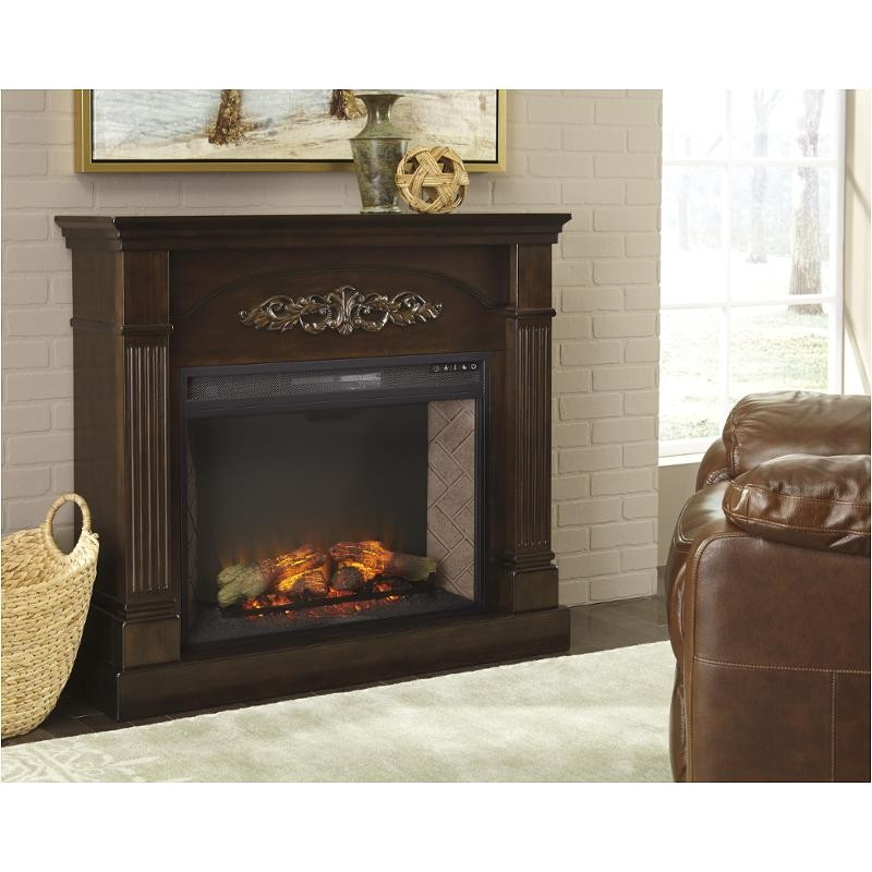 Ashley Boddeau Fireplace Mantel with Insert