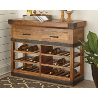 Ashley Glosco Wine Cabinet