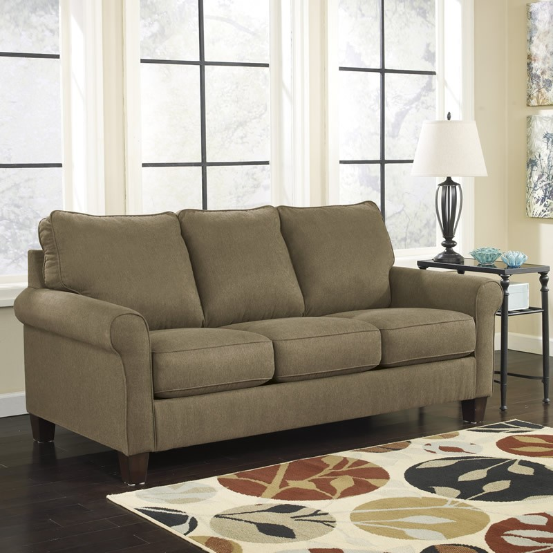 ashley zeth basil queen sleeper 2710339 sleeper sofa naturally rh naturallywoodfurniturecenter com ashley zeth queen sleeper sofa ashley furniture queen sleeper sofa