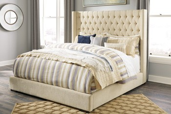 queen upholstered headboard and frame norrister multi queen upholstered headboard b599277