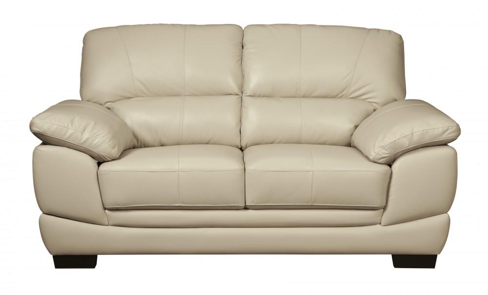 Outstanding Fontenot Cream Loveseat Creativecarmelina Interior Chair Design Creativecarmelinacom