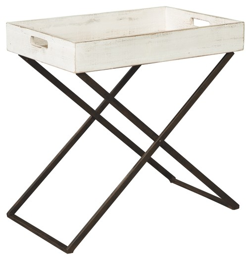 Janfield   Antique White   Accent Table. Click To Expand. Janfield ·  Janfield