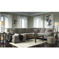Jinllingsly - Gray 3 Pc. LAF Chaise Sectional