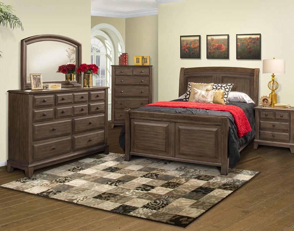 Hemingway bedroom bedroom packages pruitt 39 s fine furniture for Pruitts bedroom sets