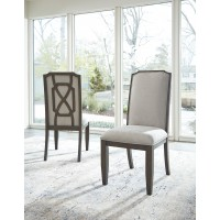 Zimbroni - Brown - Dining UPH Side Chair (2/CN)