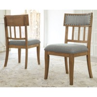 Ollesburg - Brown - Dining UPH Side Chair (2/CN)