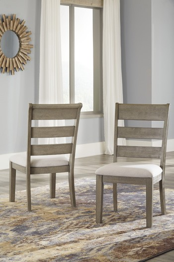 Chapstone Gray Dining Uph Side Chair 2 Cn
