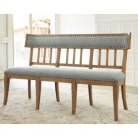 Ollesburg - Brown - Upholstered Bench