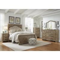Shellington - Caramel - 5pc Queen Bedroom Group