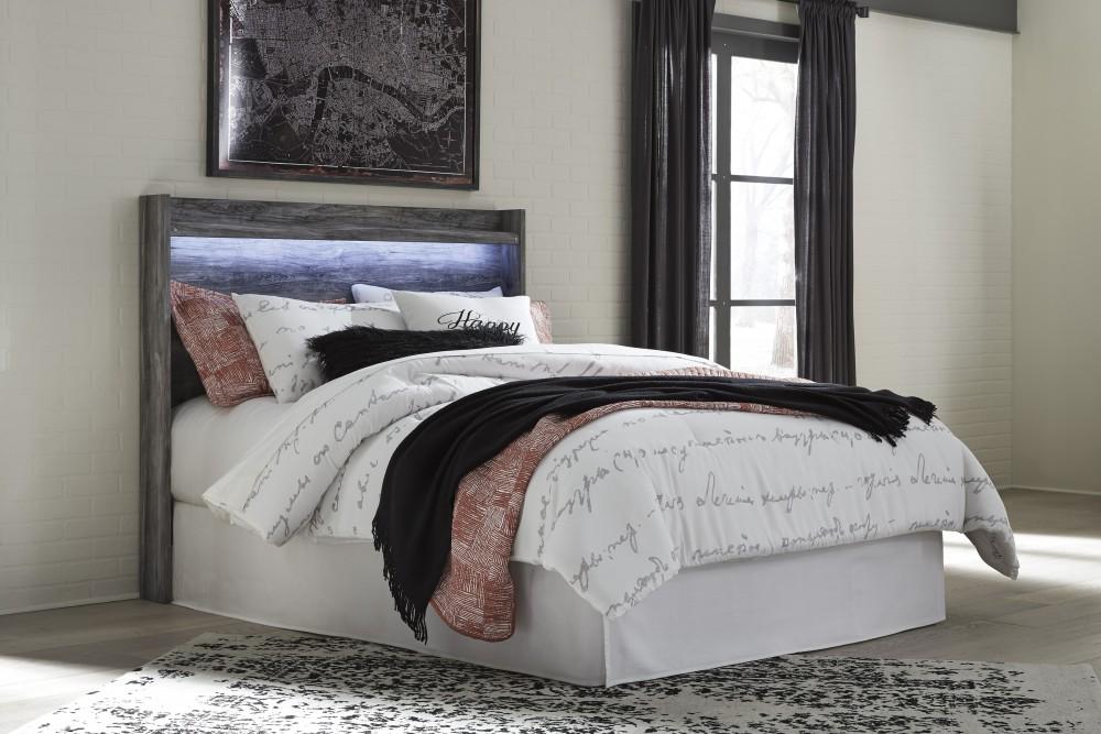 Baystorm Gray 3pc Queen Bedroom Group B221 31 36 57