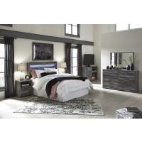 Baystorm - Gray - 3pc Queen Bedroom Group